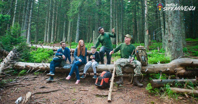 prepper nel bosco-conoscenze-sopravvivenza-prepping-prepper-comunità