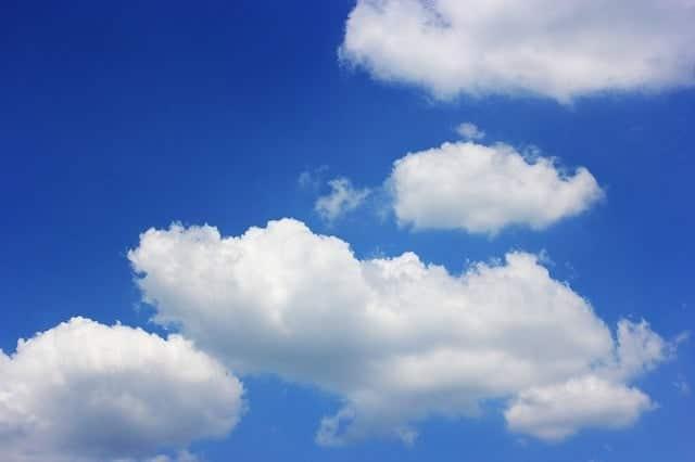 cumuli nuvole - prevedere il tempo - previsioni del tempo