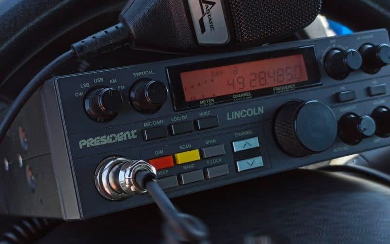 apparato radio cb president lincoln